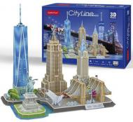 3D-конструктор CubicFun CITY LINE NEW YORK
