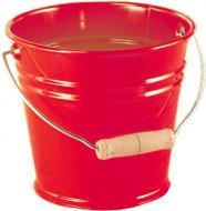 Ведерко NIC металлическое красное NIC535054