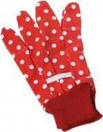 Перчатки NIC садовые красные NIC535901