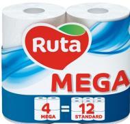 Туалетная бумага Ruta двухслойная 4 шт.