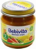 Пюре Bebivita Овочеве асорті 100 г 9007253102339