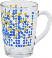 Чашка Точки синие 300 мл Danore