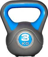 Гиря LiveUp Plastic Kettel Bell LS2047-3 1 шт. x 3 кг