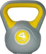 Гиря LiveUp Plastic Kettel Bell LS2047-4 1 шт. x 4 кг