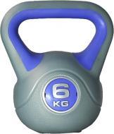 Гиря LiveUp Plastic Kettel Bell LS2047-6 1 шт. x 6 кг