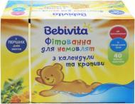 Фітованна для немовлят Bebivita з календули і кропиви 40х1,5 г 4820025490282