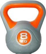 Гиря LiveUp Plastic Kettel Bell LS2047-8 1 шт. x 8 кг