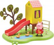 Ігровий набір Peppa Pig Ігровий майданчик Пеппи Будиночок з гіркою 06149-2