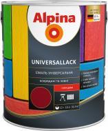 Эмаль алкидная Alpina Universallack зеленый глянец 2.5л