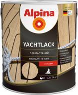 Лак Yachtlack Alpina глянець прозорий 2,5 л