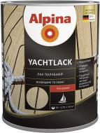 Лак Yachtlack Alpina глянець 0.75 л прозорий