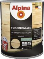 Лак Fussbodenlack Alpina шовковистий мат 0.75 л прозорий