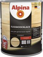 Лак Fussbodenlack Alpina глянець 0.75 л прозорий