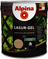 Лазурь Alpina Lasur-Gel палисандр шелковистый мат 0,75 л