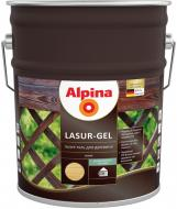 Лазурь Alpina Lasur-Gel сосна шелковистый мат 10 л