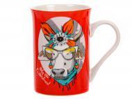 Чашка для чаю Moo red NY 300 мл 358-1003 Lefard