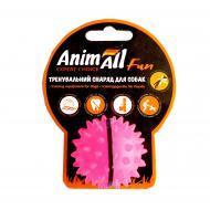 Игрушка для собак AnimAll Fun мяч каштан коралловый 5 см