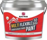 Універсальна гумова фарба гумова Bayris MULTIFLEXIBLE PAINT RAL 6005 мат зелений 10кг