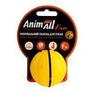 Іграшка для собак AnimAll Fun м'яч жовтий 5 см