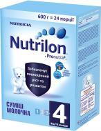 Суха молочна суміш Nutrilon 4 600 г 609228 5900852929762