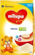 Каша молочна Milupa від 6 місяців манна 210 г