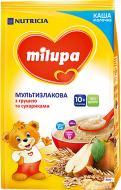 Каша молочна Milupa мультизлакова з сухариками та грушею 5900852931192 170 г