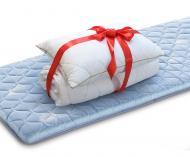 Набор Roll Up Green Tea 90x190 см + классическая подушка 50х70 см + одеяло 140х200 см Dormeo 90x190 см