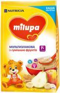 Каша молочна Milupa мультизлакова з сумішшю фруктів 5900852930010 210 г