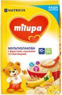 Каша молочна Milupa мультизлакова з фруктами та пластівцями 5900852930102 210 г