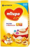 Каша молочна Milupa від 5 місяців рисова з абрикосом 210 г