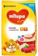 Каша молочна Milupa від 5 місяців рисова з малиною 210 г