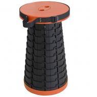 Табурет складной туристический Fexible Stool 7108 пластиковый Оранжевый