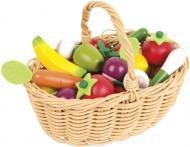 Ігровий набір Janod Кошик із овочами та фруктами J05620