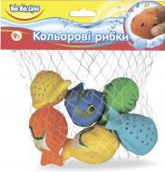 Игрушка для ванны Bebelino Цветные рыбки 57090