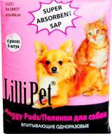 Пелюшки одноразові Lilli Pet 40x48 см 6 шт.