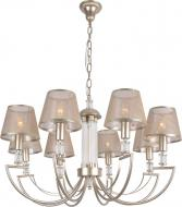 Люстра підвісна Victoria Lighting Sicilia/SP8 8x40 Вт E14 бронза