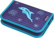 Пенал 31 предмет Dolphin 50020966 Herlitz синій