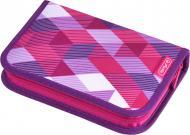 Пенал 31 предмет Cubes Pink 50020973 Herlitz рожевий