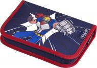 Пенал 31 предмет Super Hero 50020980 Herlitz темно-синій