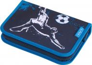 Пенал 31 предмет Kick It 50020997 Herlitz темно-синій