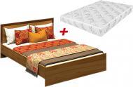 Ліжко Embawood Тіффані + матрац у дарунок 160x200 см горіх