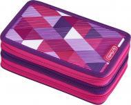 Пенал 31 предмет Triple Cubes Pink 50021062 Herlitz рожевий
