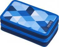 Пенал 31 предмет Triple Cubes Blue 50021093 Herlitz блакитний
