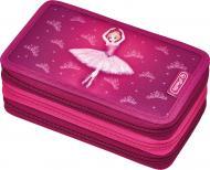 Пенал 31 предмет Triple Ballerina 50008537 Herlitz рожевий