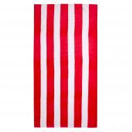 Полотенце Бело-красная решетка 75x150 см Home Line