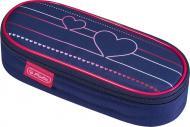 Пенал Case Flap Heartbeat 50021178 Herlitz синій