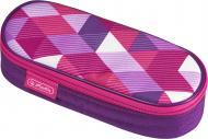 Пенал Case Flap Cubes Pink 50021185 Herlitz рожевий