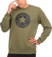 Джемпер Converse Chuck Taylor Graphic Crew р. M зеленый 10007070-322