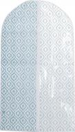 Чохол для одягу Лілея Vivendi 105x60 см бірюзовий із білим
