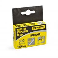 Цвяхи для ручного степлера Topmaster 15 мм тип 300 1000 шт. 511341